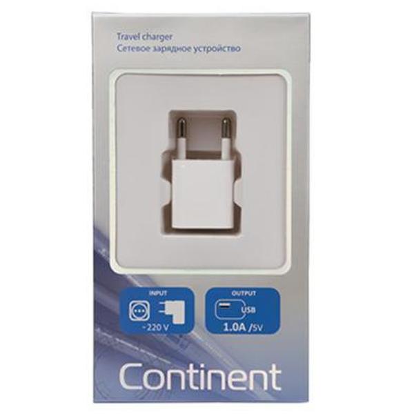 Сетевое зарядное устройство Continent ZN10-193WT White