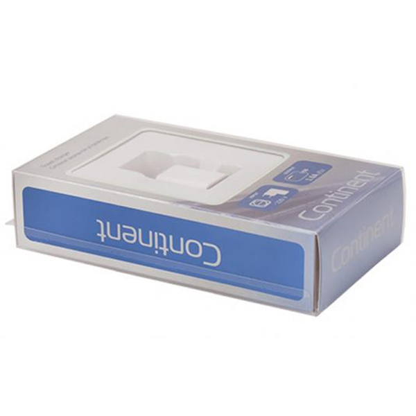 Сетевое зарядное устройство Continent ZN10-193WT, White