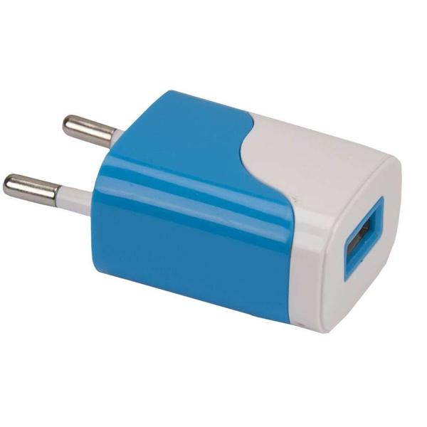 Сетевое зарядное устройство Continent ZN10-194NV Blue