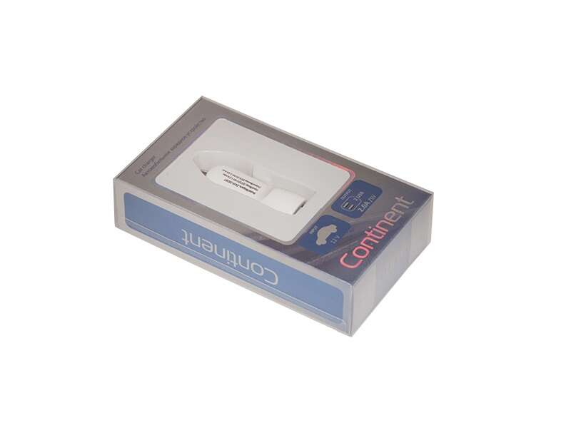 Автомобильное зарядное устройство Continent ZA20-292WT White