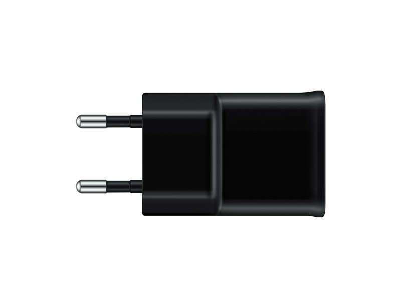Зарядное устройство Samsung  EP-TA12EBEUGRU micro USB, Black