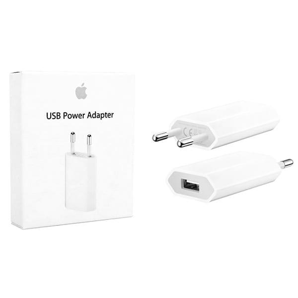 Сетевое зарядное устройство Apple USB Power Adapter MD813 White