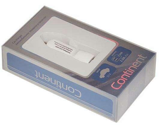 Автомобильное зарядное устройство Continent ZA20-292WT, белый