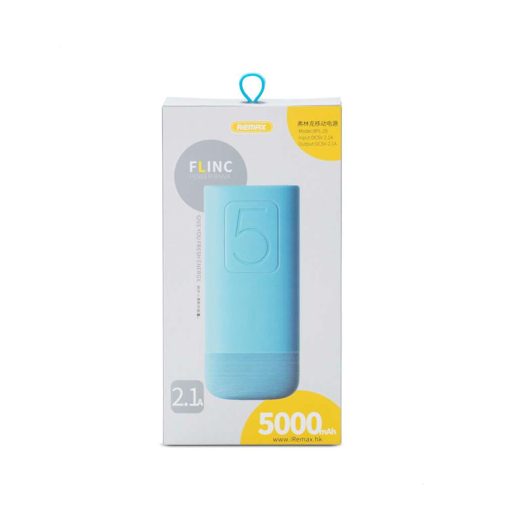 Power bank Remax Flinc Series Series (RPL-25), Голубой