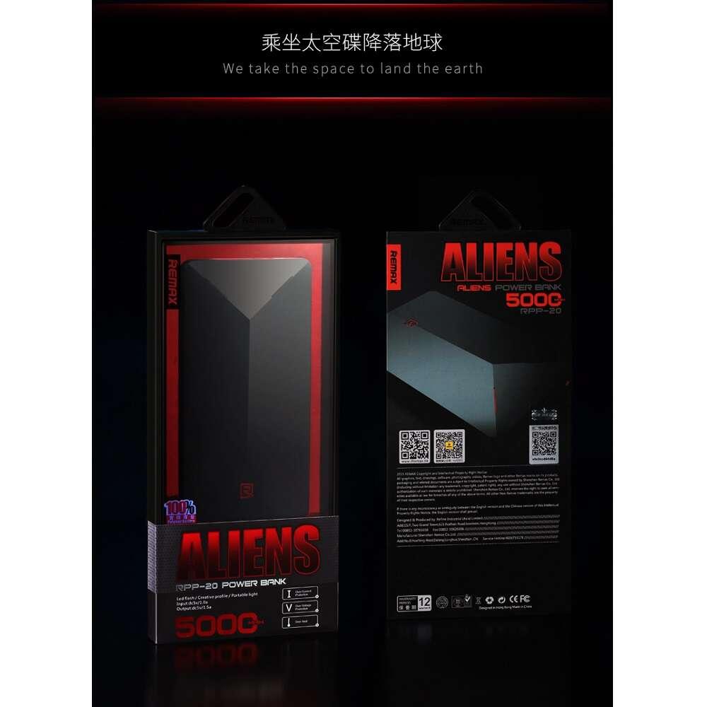 Power bank Remax Alien Series (RPP-20), Черный