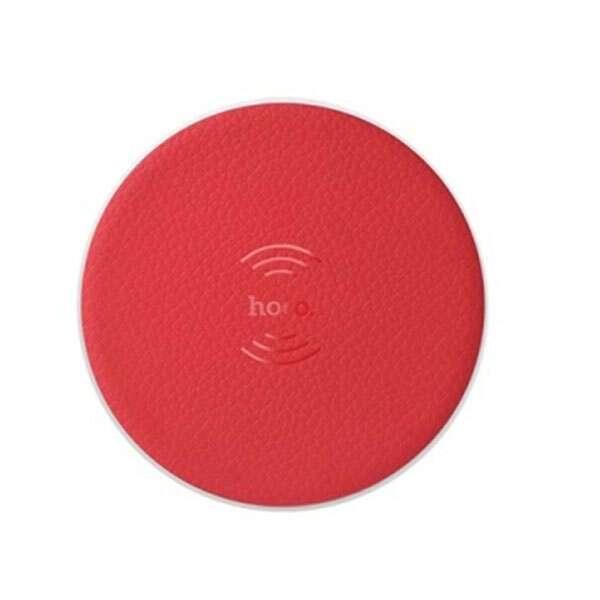 Беспроводная зарядка Hoco  CW14, красный