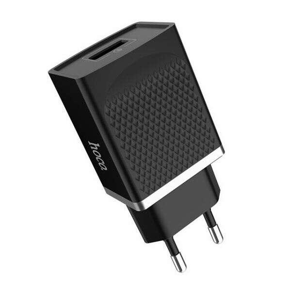 Сетевое зарядное устройство Hoco C42A QC3.0 черный