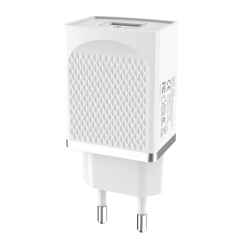 Сетевое зарядное устройство Hoco C42A QC3.0 белый