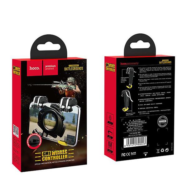 Игровой держатель для смартфона Hoco GM1 Winner tool Вlack