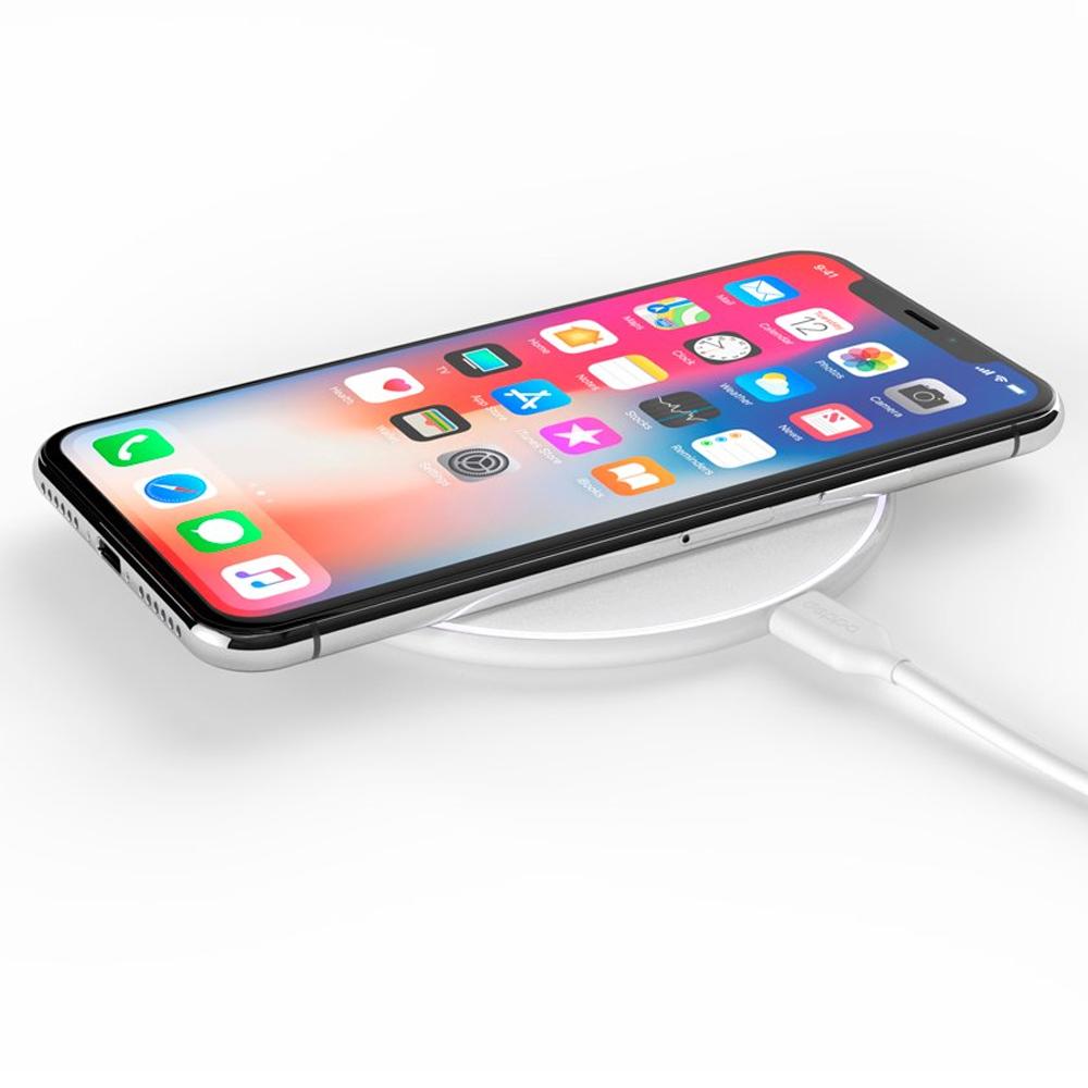 Беспроводное зарядное устройство Deppa Qi Fast Charger 10W White