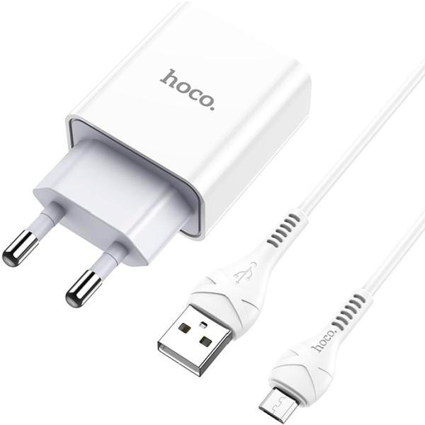 Cетевое зарядное устройство Hoco Micro-USB C81A Asombroso