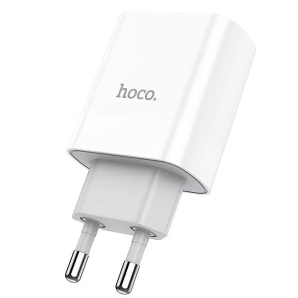 Зарядное устройство Hoco C80A Rapido PD20W+QC3.0 (EU) белый