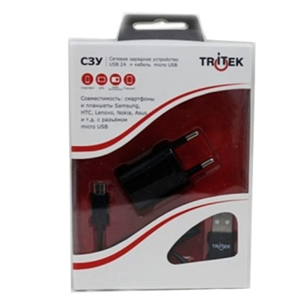 Зарядное устройство Tritek T-CH002+CB001