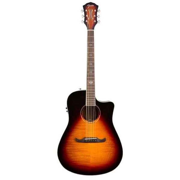 Электроакустическая гитара Fender T-Bucket 300-CE FLM MPL 3TS
