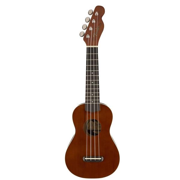 Укулеле Fender Fender Venice Soprano Uke, Walnut Fingerboard, Natural