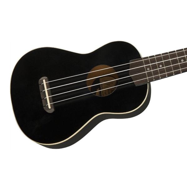 Укулеле Fender Fender Venice Soprano Black