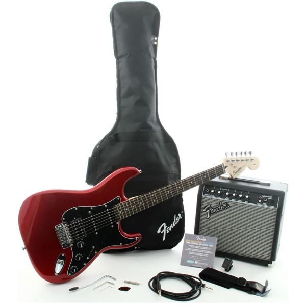 Комплект для обучения Squier Affinity Series™ Stratocaster® HSS Pack