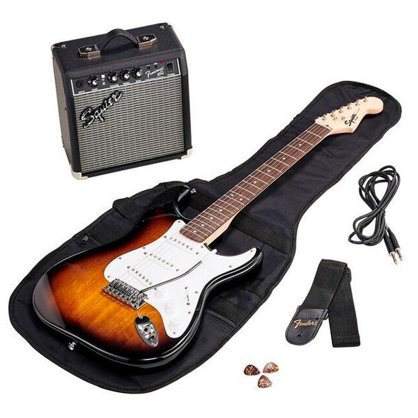Комплект для обучения Squier Stratocaster Pack