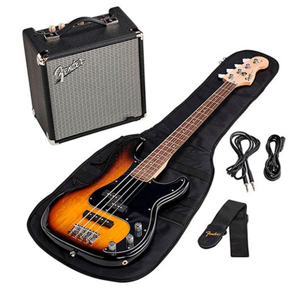 Комплект для обучения Squier Affinity Precision bass PJ Pack