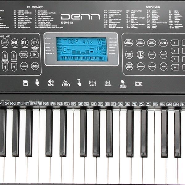 Синтезатор Denn DEK612