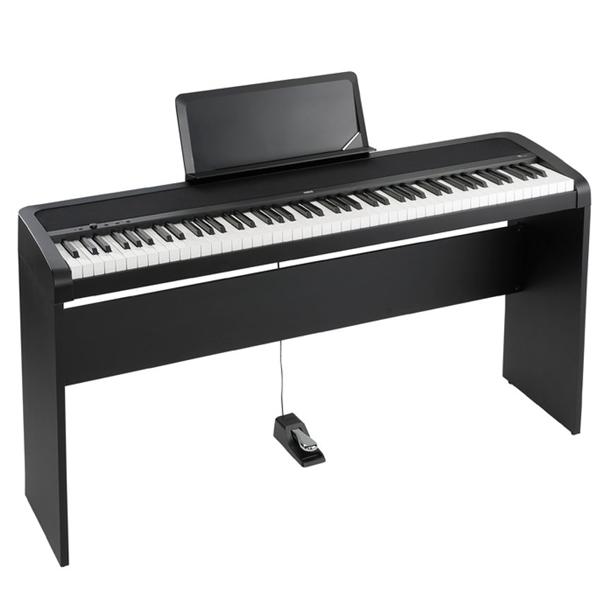 Цифровое пианино Korg B1-BK (со стойкой)