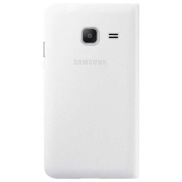 Чехол Samsung  Slim Cover Flip Wallet  EF-FJ105PWEGRU для Samsung Galaxy J1 mini, White