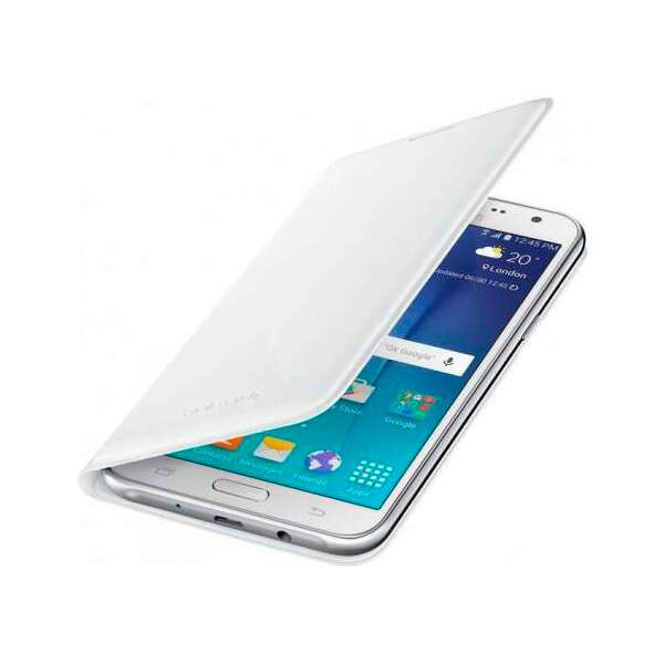 Чехол Samsung Slim Cover Flip Wallet  EF-FJ105PWEGRU для Galaxy J1 mini White