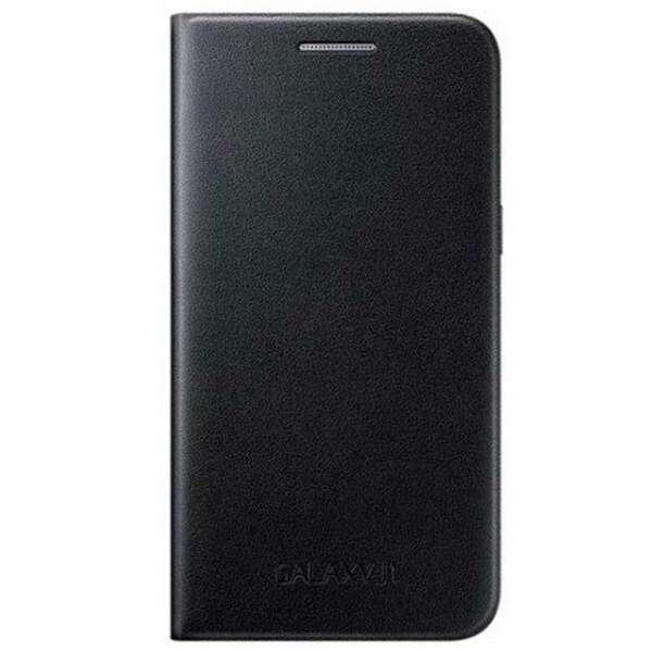 Чехол Samsung Slim Cover Flip Wallet EF-FJ105PWEGRU для Galaxy J1 mini Black
