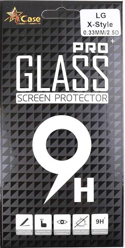 Защитное стекло А-Сase для LG X Style