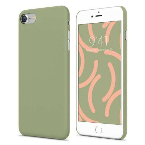 Чехол Vipe  Grip (VPIP7GRIPOLI) для Apple iPhone 7, Оливковый