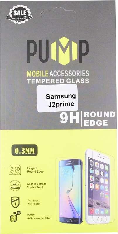 Стекло противоударное одностороннее PUMP GlassProtector для Samsung J2 Prime