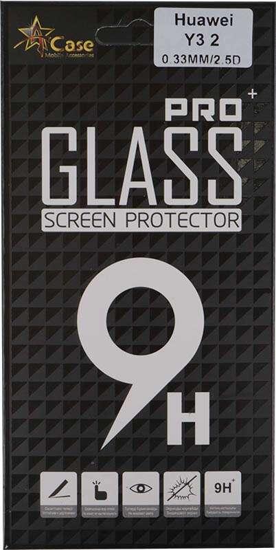 Защитное стекло А-Сase  Huawei Y3II DS 3G