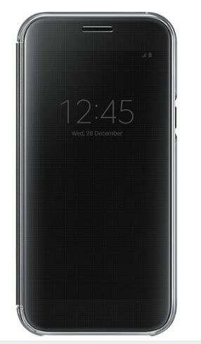 Чехол Samsung Clear View Cover EF-ZA520CBEGRU для Galaxy A5 2017 Black