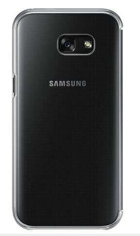Чехол Samsung Clear View Cover EF-ZA520CBEGRU для Galaxy A5 2017 Black