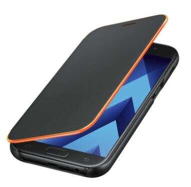 Чехол Samsung  Neon Flip Cover (EF-FA720PBEGRU) для Galaxy A7 (2017), Black
