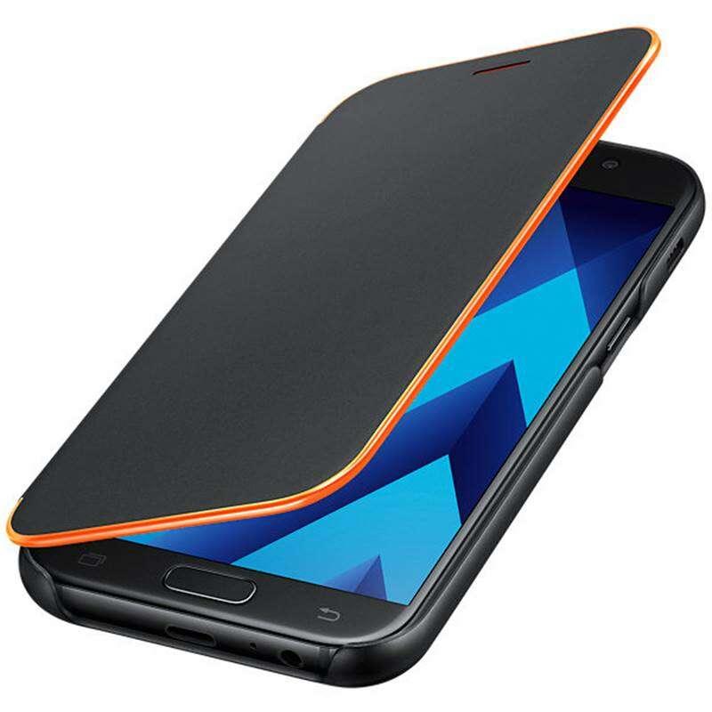 Чехол Samsung  Neon Flip Cover (EF-FA520PBEGRU) для Galaxy A5 (2017), Black