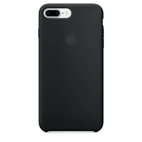 Чехол Apple для iPhone 7 Plus Silicone Case MMQR2, (черный)