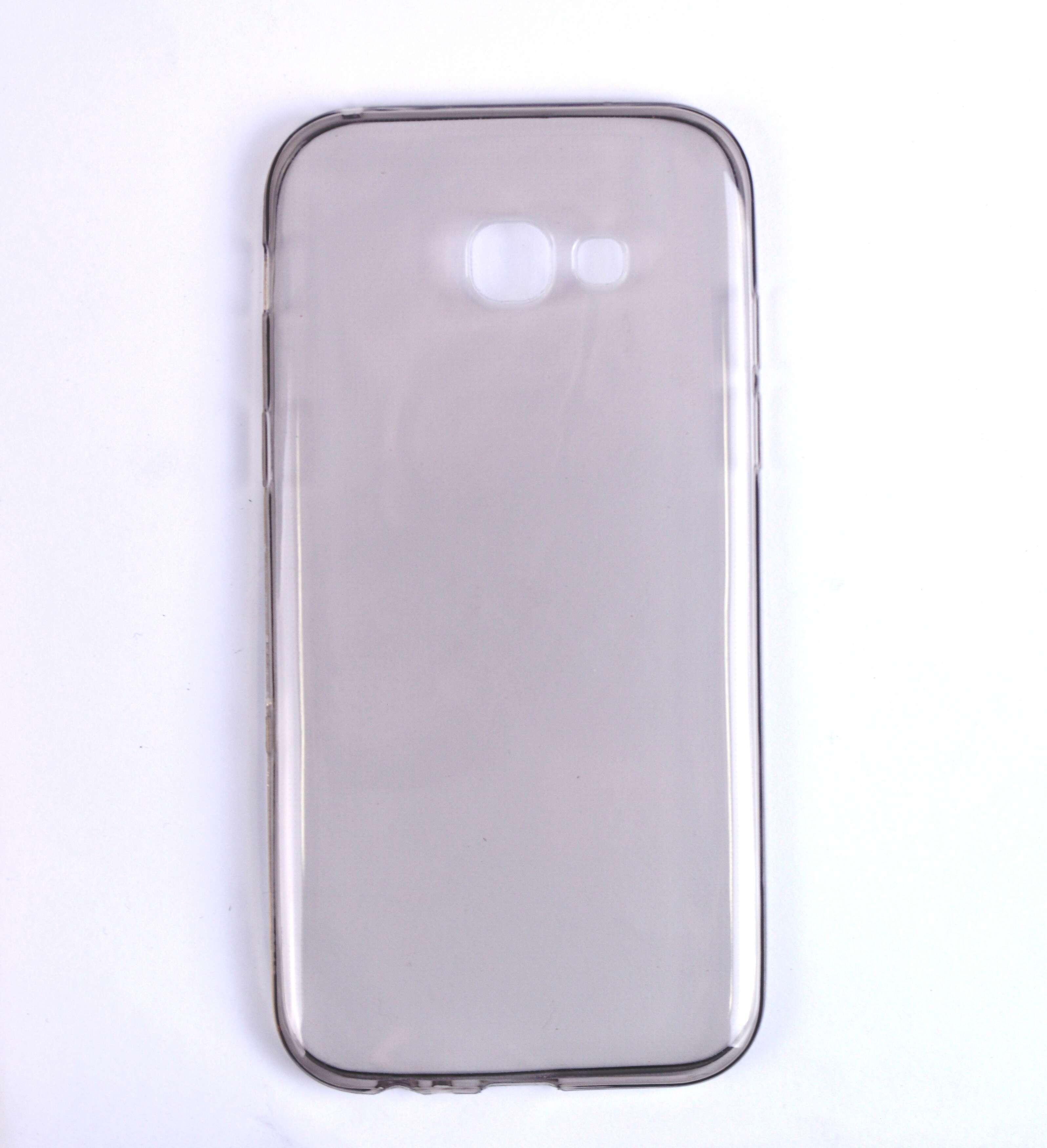 Чехол темный для Samsung ультротонкий силиконовый A5 2017