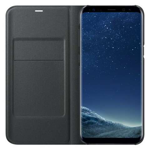 Чехол Samsung  LED View Cover для Samsung Galaxy S8+ (EF-NG955PBEGRU), Black