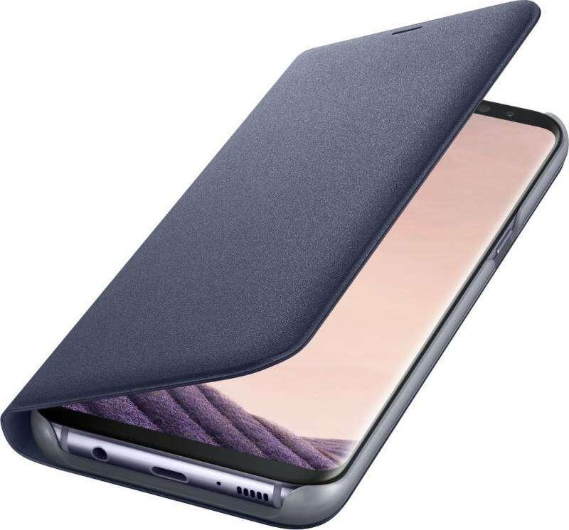 Чехол Samsung  LED View Cover для Samsung Galaxy S8+ (EF-NG955PVEGRU), Violet