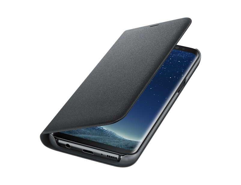 Чехол Samsung  LED View Cover для Samsung Galaxy S8 (EF-NG950PBEGRU), Black
