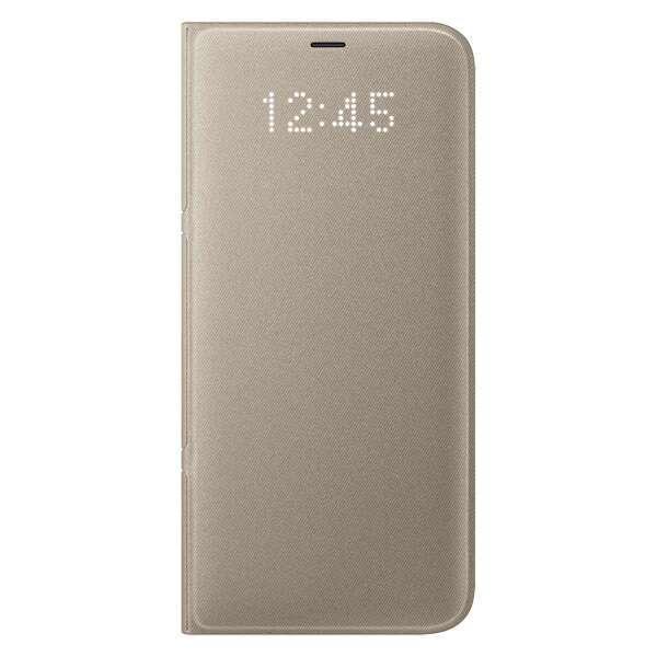 Чехол Samsung  LED View Cover для Samsung Galaxy S8 (EF-NG950PFEGRU), Gold