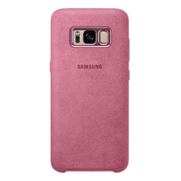 Чехол Samsung Alcantara Cover для Galaxy S8, Pink