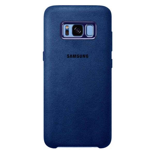 Чехол Samsung Alcantara Cover для Galaxy S8+, Blue