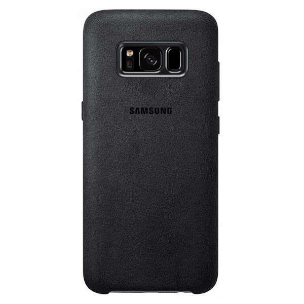 Чехол Samsung Alcantara Cover для Galaxy S8+, Dark Gray