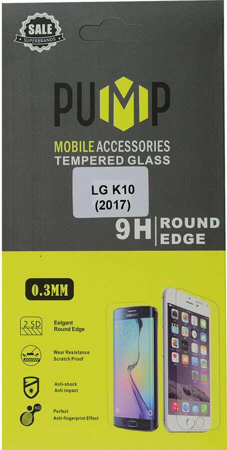 Стекло противоударное одностороннее PUMP GlassProtector для LG K10 (2017)