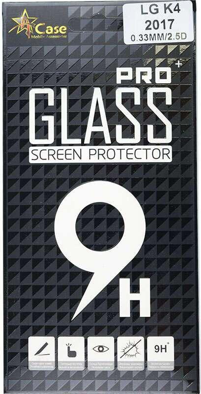 Защитное стекло A-case GlassProtector для LG K4 (2017)