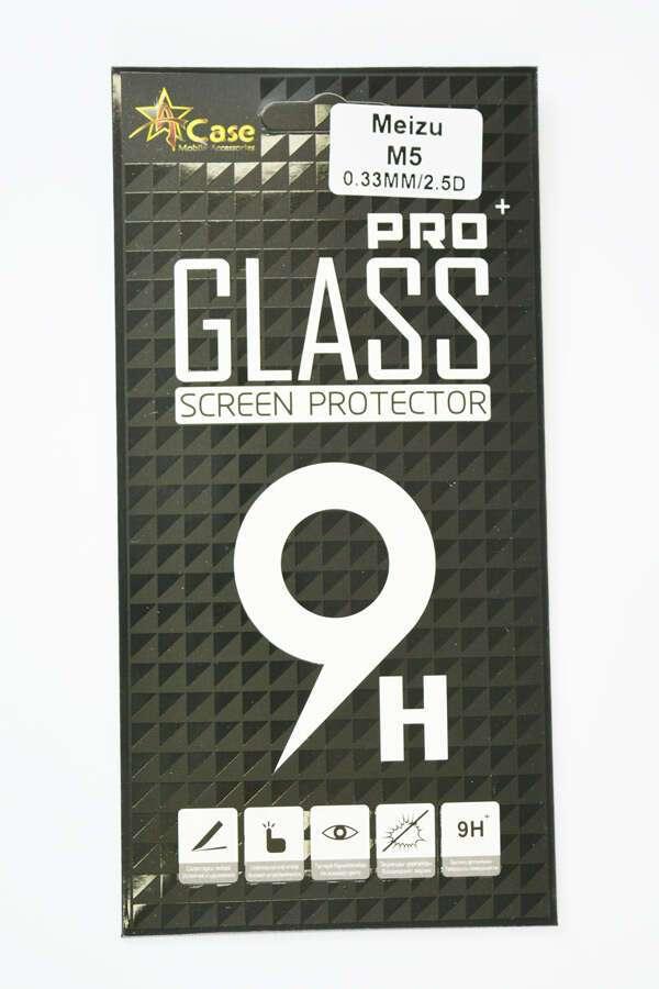 Защитное стекло  A-case для MEIZU M5
