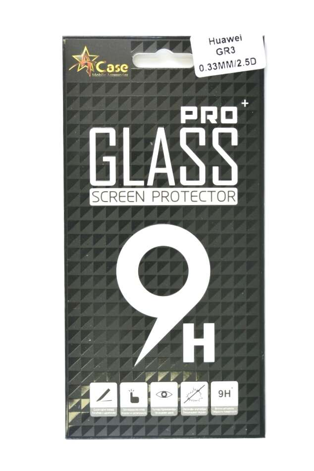 Защитное стекло A-case для Huawei GR3
