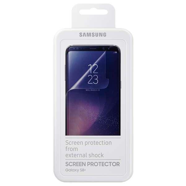 Комплект защитных пленок Samsung ET-FG955CTEGRU для Samsung Galaxy S8+
